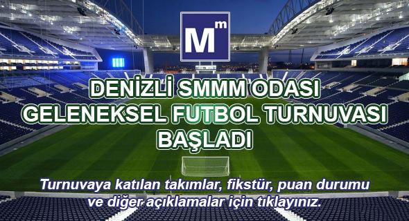 DENİZLİ SMMM ODASI 2018 FUTBOL TURNUVASI