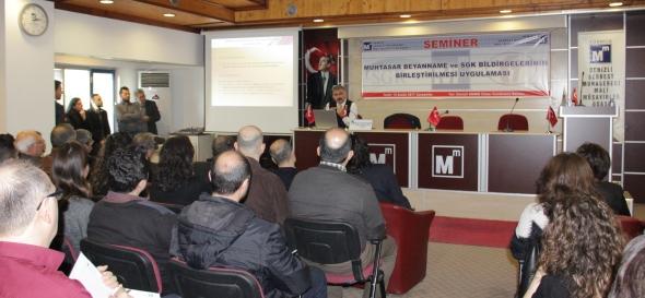 Muhtasar Beyanname ve SGK Bildirgelerinin Birleştirilmesi Semineri Yapıldı
