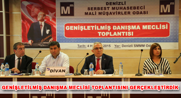 GEN��LET�LM�� DANI�MA MECL�S� TOPLANTISI YAPILDI