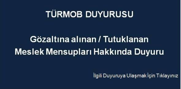 T�RMOB DUYURUSU