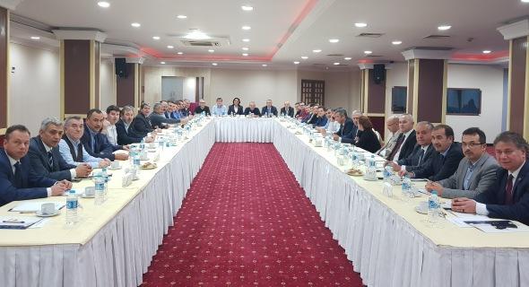 EGE ODALARI BAŞKANLAR KURULU TOPLANTISI, DENİZLİ'DE YAPILDI